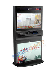 Chiny ZT2781 High Safety Large Screen lobby Kiosk with large size touch monitor dostawca