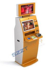 Chiny ZT2910 Self - Service  Bill Payment Kiosk / ATM with Dual Screen dostawca