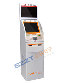 Banking Kiosk ZT2081 Self-service Financial Kiosk with invoice printing
